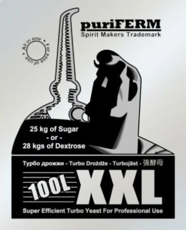 Puriferm XXL Turbo Yeast - For 100 litres Commercial Grade